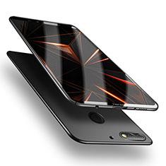 Handyhülle Hülle Kunststoff Schutzhülle Matt M05 für Huawei Y7 (2018) Schwarz
