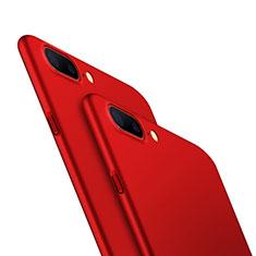 Handyhülle Hülle Kunststoff Schutzhülle Matt M05 für OnePlus 5 Rot