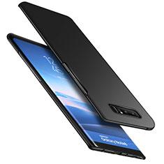 Handyhülle Hülle Kunststoff Schutzhülle Matt M05 für Samsung Galaxy Note 8 Schwarz