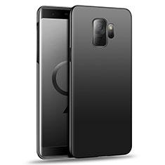 Handyhülle Hülle Kunststoff Schutzhülle Matt M05 für Samsung Galaxy S9 Schwarz