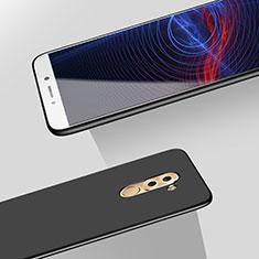 Handyhülle Hülle Kunststoff Schutzhülle Matt M06 für Huawei Honor 6X Schwarz
