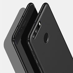 Handyhülle Hülle Kunststoff Schutzhülle Matt M06 für Huawei Honor 8 Schwarz