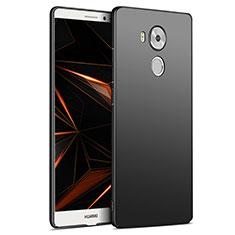 Handyhülle Hülle Kunststoff Schutzhülle Matt M06 für Huawei Mate 8 Schwarz