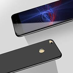 Handyhülle Hülle Kunststoff Schutzhülle Matt M06 für Huawei P8 Lite (2017) Schwarz