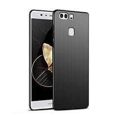Handyhülle Hülle Kunststoff Schutzhülle Matt M06 für Huawei P9 Schwarz