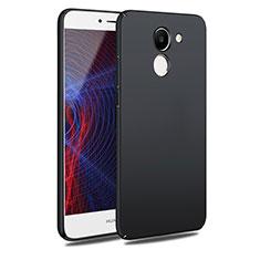 Handyhülle Hülle Kunststoff Schutzhülle Matt M06 für Huawei Y7 Prime Schwarz