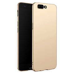 Handyhülle Hülle Kunststoff Schutzhülle Matt M06 für OnePlus 5 Gold