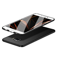 Handyhülle Hülle Kunststoff Schutzhülle Matt M06 für Samsung Galaxy C5 SM-C5000 Schwarz