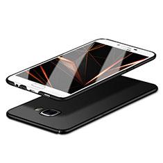 Handyhülle Hülle Kunststoff Schutzhülle Matt M06 für Samsung Galaxy C7 SM-C7000 Schwarz