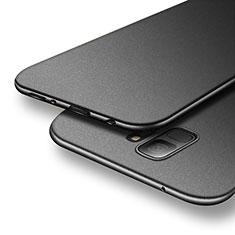 Handyhülle Hülle Kunststoff Schutzhülle Matt M06 für Samsung Galaxy S9 Schwarz