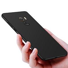Handyhülle Hülle Kunststoff Schutzhülle Matt M06 für Xiaomi Mi Mix 2 Schwarz