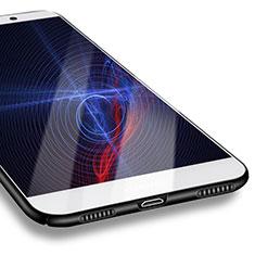 Handyhülle Hülle Kunststoff Schutzhülle Matt M07 für Huawei Enjoy 7 Plus Schwarz