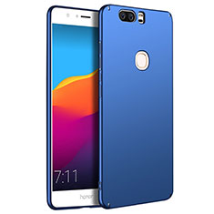Handyhülle Hülle Kunststoff Schutzhülle Matt M07 für Huawei Honor V8 Blau