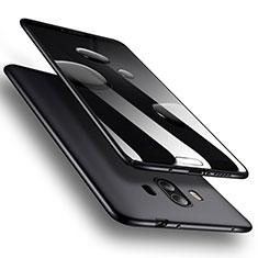 Handyhülle Hülle Kunststoff Schutzhülle Matt M07 für Huawei Mate 10 Schwarz