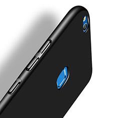 Handyhülle Hülle Kunststoff Schutzhülle Matt M07 für Huawei P8 Lite (2017) Schwarz