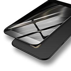 Handyhülle Hülle Kunststoff Schutzhülle Matt M07 für Samsung Galaxy C7 SM-C7000 Schwarz