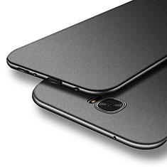 Handyhülle Hülle Kunststoff Schutzhülle Matt M07 für Samsung Galaxy S7 Edge G935F Schwarz