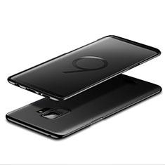 Handyhülle Hülle Kunststoff Schutzhülle Matt M07 für Samsung Galaxy S9 Schwarz