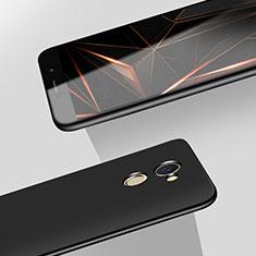 Handyhülle Hülle Kunststoff Schutzhülle Matt M08 für Huawei Enjoy 7 Plus Schwarz
