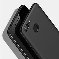 Handyhülle Hülle Kunststoff Schutzhülle Matt M08 für Huawei Nova 2 Plus Schwarz