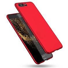 Handyhülle Hülle Kunststoff Schutzhülle Matt M08 für Huawei P10 Rot