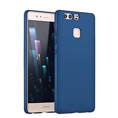 Handyhülle Hülle Kunststoff Schutzhülle Matt M08 für Huawei P9 Plus Blau