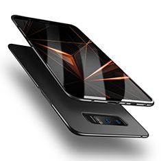 Handyhülle Hülle Kunststoff Schutzhülle Matt M08 für Samsung Galaxy Note 8 Schwarz