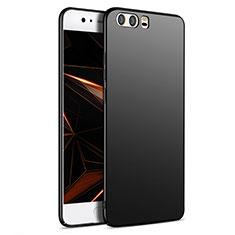 Handyhülle Hülle Kunststoff Schutzhülle Matt M09 für Huawei P10 Schwarz