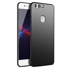 Handyhülle Hülle Kunststoff Schutzhülle Matt M09 für Huawei P9 Plus Schwarz