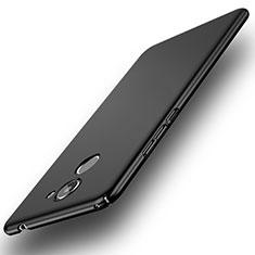 Handyhülle Hülle Kunststoff Schutzhülle Matt M09 für Huawei Y7 Prime Schwarz