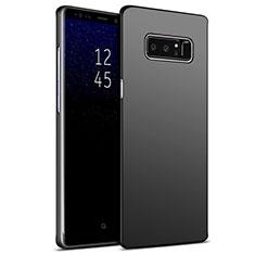 Handyhülle Hülle Kunststoff Schutzhülle Matt M09 für Samsung Galaxy Note 8 Schwarz