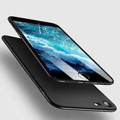 Handyhülle Hülle Kunststoff Schutzhülle Matt M10 für Apple iPhone 7 Schwarz