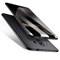 Handyhülle Hülle Kunststoff Schutzhülle Matt M10 für Huawei Mate 10 Schwarz