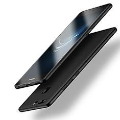 Handyhülle Hülle Kunststoff Schutzhülle Matt M10 für Huawei P9 Schwarz