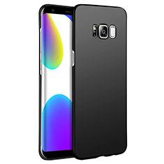 Handyhülle Hülle Kunststoff Schutzhülle Matt M12 für Samsung Galaxy S8 Plus Schwarz