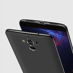 Handyhülle Hülle Kunststoff Schutzhülle Matt M15 für Huawei Mate 9 Schwarz