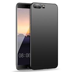 Handyhülle Hülle Kunststoff Schutzhülle Matt M15 für Huawei P10 Schwarz