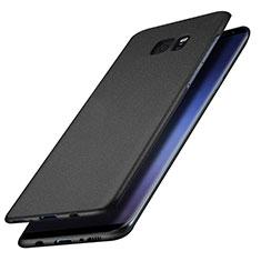Handyhülle Hülle Kunststoff Schutzhülle Matt M15 für Samsung Galaxy S7 Edge G935F Schwarz