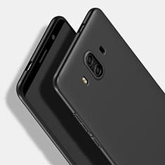 Handyhülle Hülle Kunststoff Schutzhülle Matt M16 für Huawei Mate 10 Schwarz