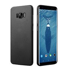 Handyhülle Hülle Kunststoff Schutzhülle Matt M16 für Samsung Galaxy S8 Plus Schwarz