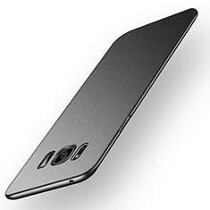 Handyhülle Hülle Kunststoff Schutzhülle Matt P03 für Samsung Galaxy S8 Schwarz