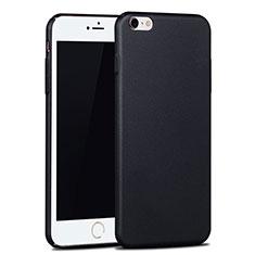 Handyhülle Hülle Kunststoff Schutzhülle Matt P06 für Apple iPhone 6S Plus Schwarz