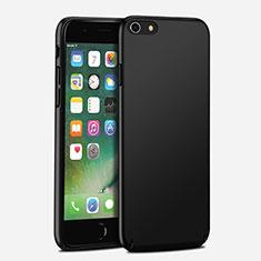 Handyhülle Hülle Kunststoff Schutzhülle Matt P07 für Apple iPhone 6S Plus Schwarz