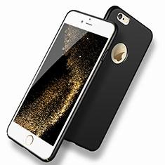 Handyhülle Hülle Kunststoff Schutzhülle Matt P08 für Apple iPhone 6S Plus Schwarz