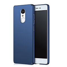 Handyhülle Hülle Kunststoff Schutzhülle Matt Q02 für Xiaomi Redmi Note 4X Blau