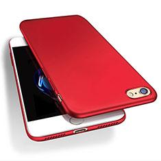 Handyhülle Hülle Kunststoff Schutzhülle Matt Q03 für Apple iPhone 7 Rot