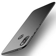 Handyhülle Hülle Kunststoff Schutzhülle Matt Q03 für Xiaomi Mi 8 Schwarz