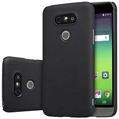 Handyhülle Hülle Kunststoff Schutzhülle Matt R01 für LG G5 Schwarz