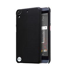 Handyhülle Hülle Kunststoff Schutzhülle Punkte Loch für HTC Desire 630 Schwarz