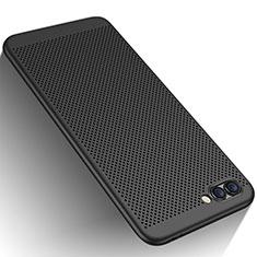 Handyhülle Hülle Kunststoff Schutzhülle Punkte Loch für Huawei Honor 10 Schwarz